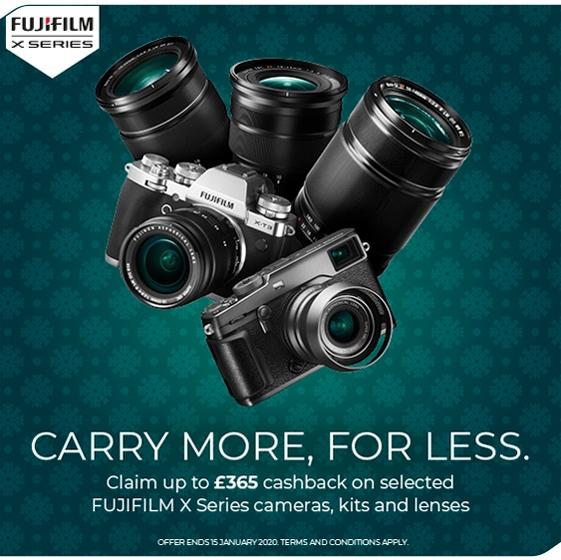 Fujifilm Winter Cashback 2020