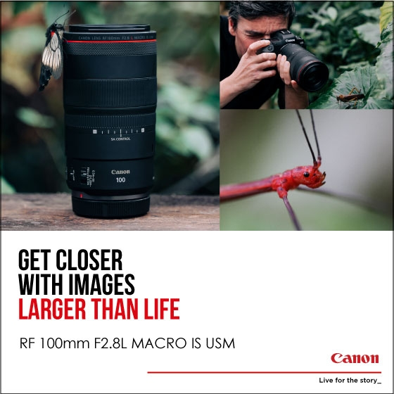 Canon RF 100mm F2.8L IS USM