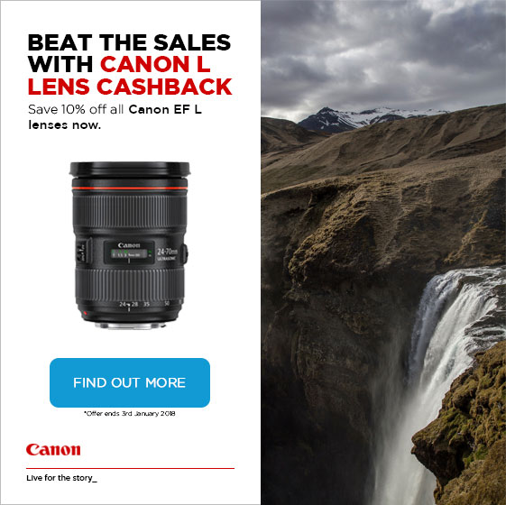Canon 10% discount on L Lenses