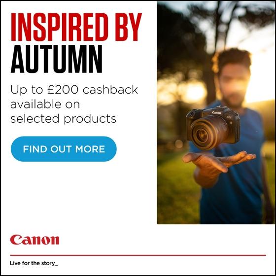 Canon Autumn cashback