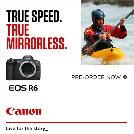 EOS R6 Pre-Order