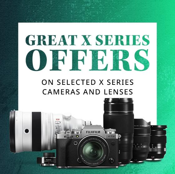 Fujifilm 10% off lenses promotional banner