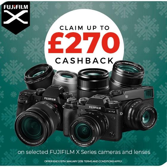 Fujifilm Winter Cashback 2018