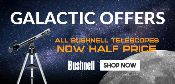 All Bushnell Telescopes now HALF PRICE