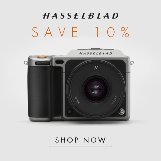Save 10% on Hasselblad