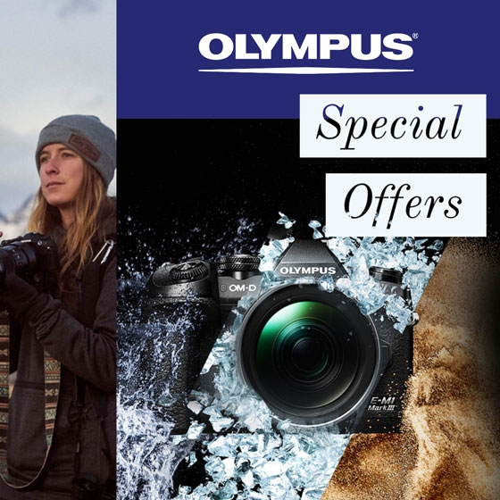 Save £50 on Olympus LS-P4 Audio Recorder when bought with any new Olympus OM-D E-M5 Mark III
