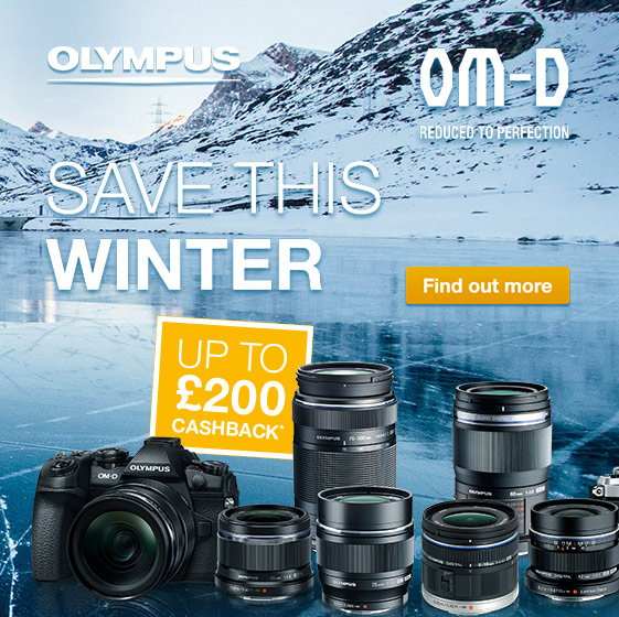 Olympus Winter Cashback