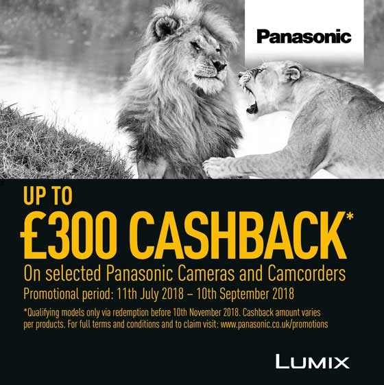 Panasonic Summer Cashback 2018