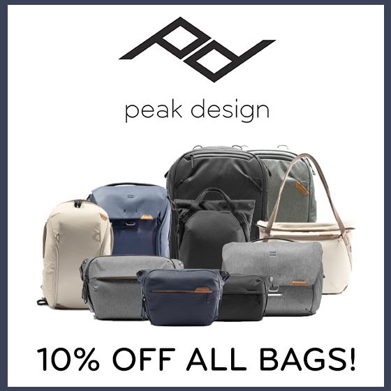 10% off Peak Design