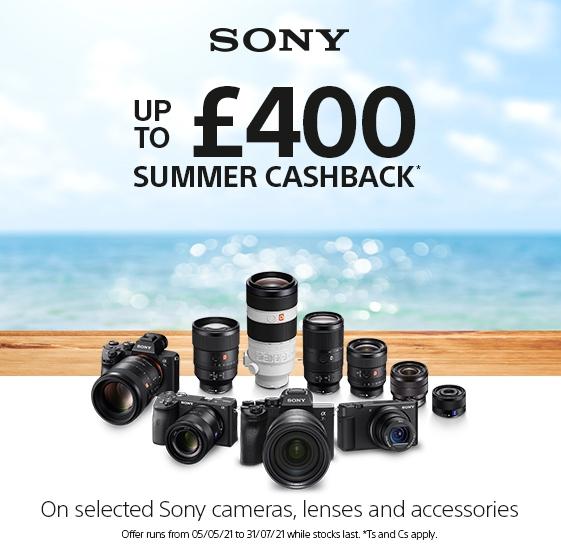 Sony Summer Cashback Offer 2021