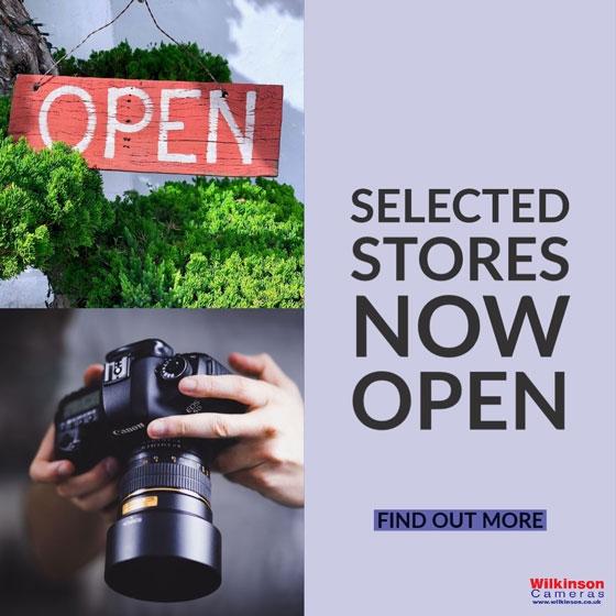 Wilkinson Cameras stores now re-open covid-19