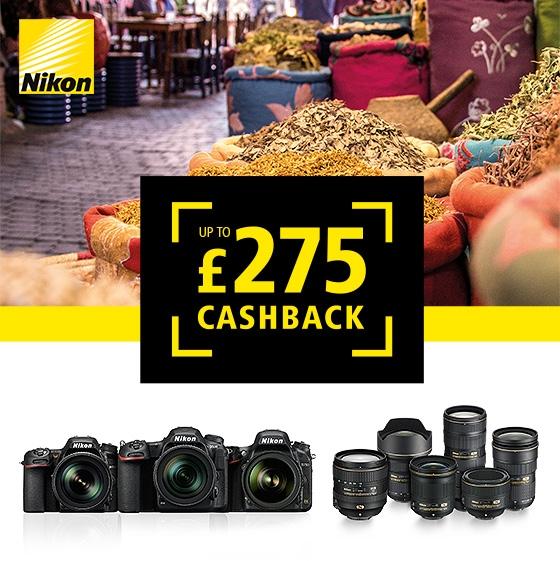 Nikon Summer Cashback