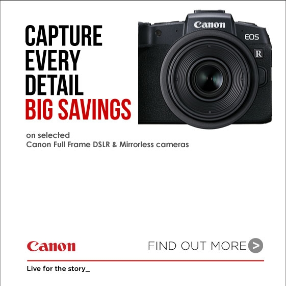 Canon Sale Banner