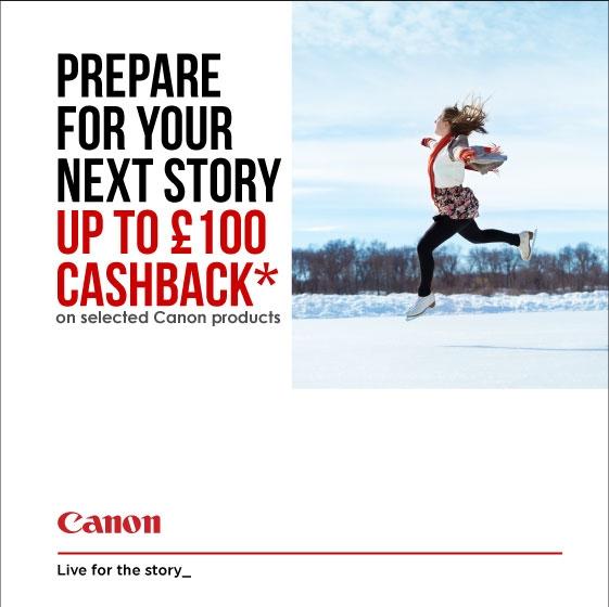 Canon Winter Cashback 2018