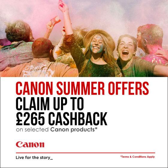 Canon Summer Cashback