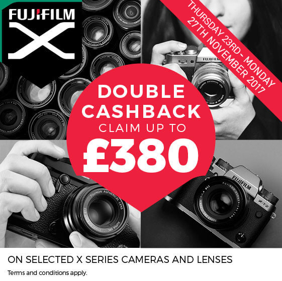 Fujifilm Winter Double Cashback