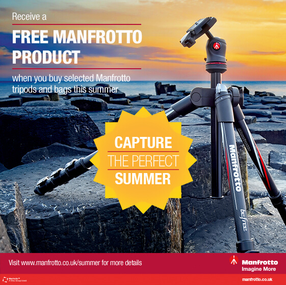 Manfrotto Summer Promotion
