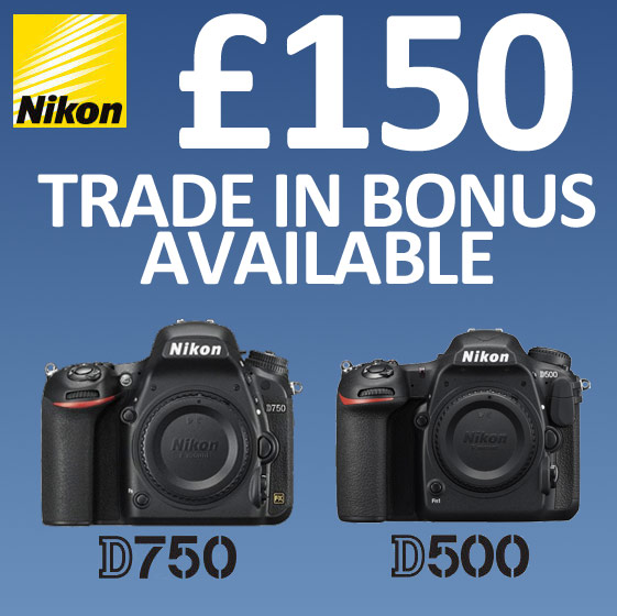 Nikon Trade in offer - ends 12/07/17