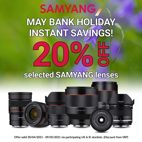 Samyang Lens Sale