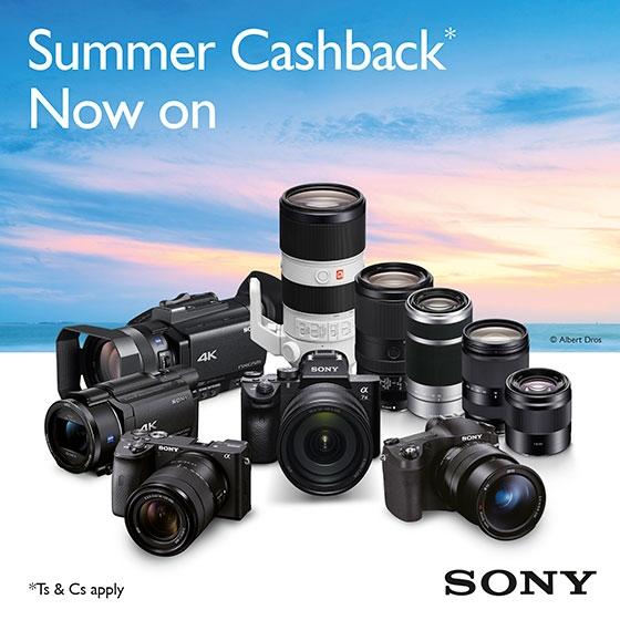 Sony Cashback Banner