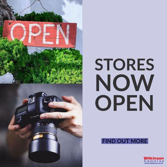 Wilkinson Cameras stores now re-open covid-19