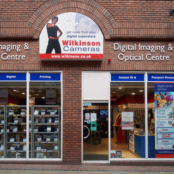Wilkinson Cameras Carlisle Store - your local camera experts