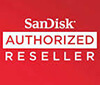 SanDisk Authorised Retailer Logo