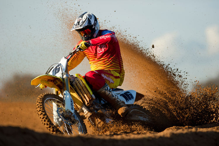 Motorcross action sports photograph by Adam Duckworth