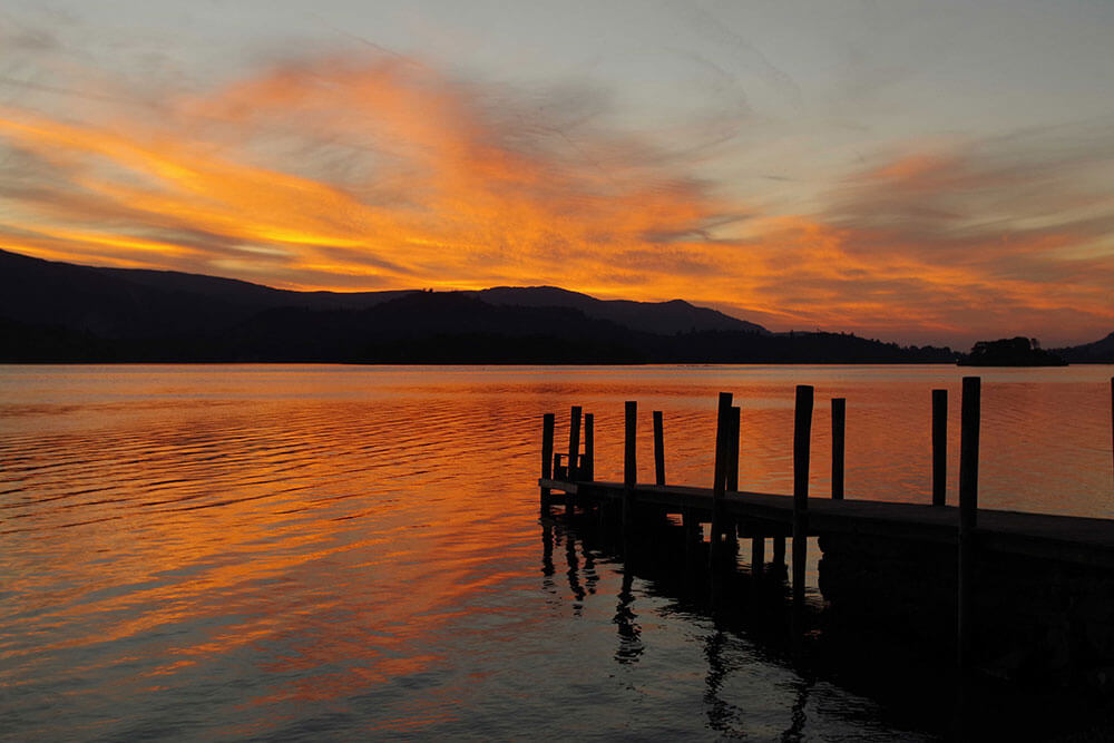 Derwent Water, Lake District, North West England. Top 12 Autumnal Landscape Locations