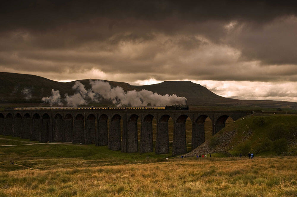 Ribblehead Viaduct, Yorkshire Dales National Park. Top 12 Autumnal Landscape Locations