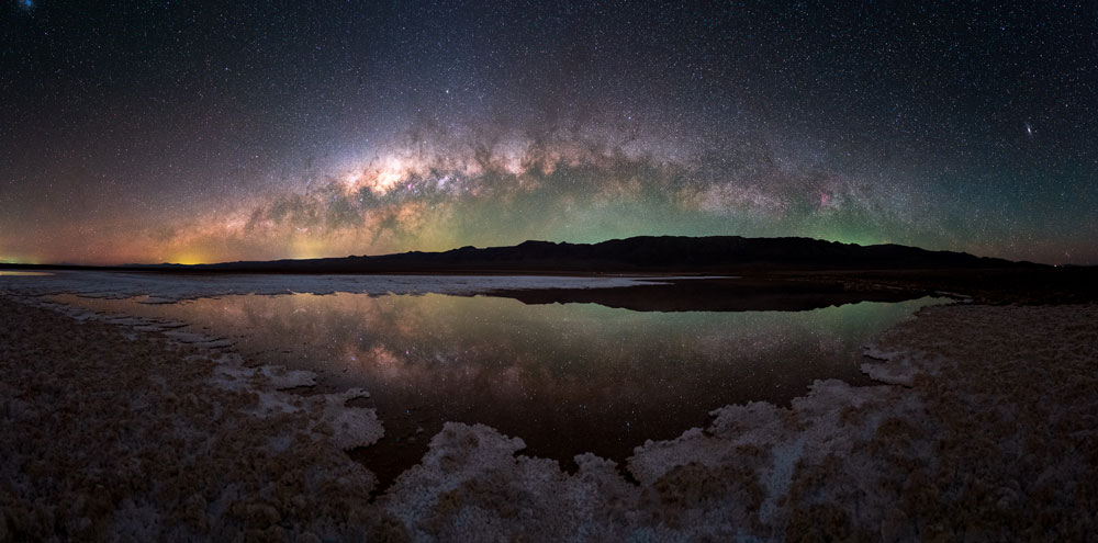 night sky panorama